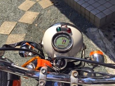 エイプ50 メーター交換